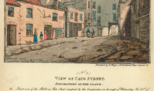 Cato Street then and now