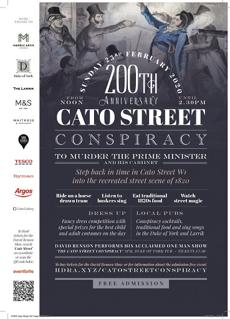 Cato Street Festival Sunday Feb 23rd 2020