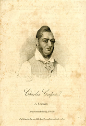 A Portrait of Charles Cooper | Charles Cooper by A Wivell. British Museum 1872, 1012.741
