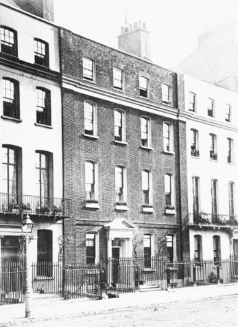 39 Grosvenor Square in 1874.