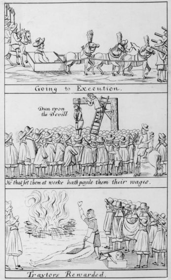 Following the restoration of the monarchy, Charles II had the men who acted against his father executed for treason. | Hulton Archive / Getty Images