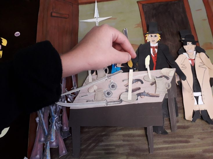 Y6 children at Oratory Primary School animated the discovery of the Cato Street Conspiracy | Tom Hillenbrand Beautness Animation