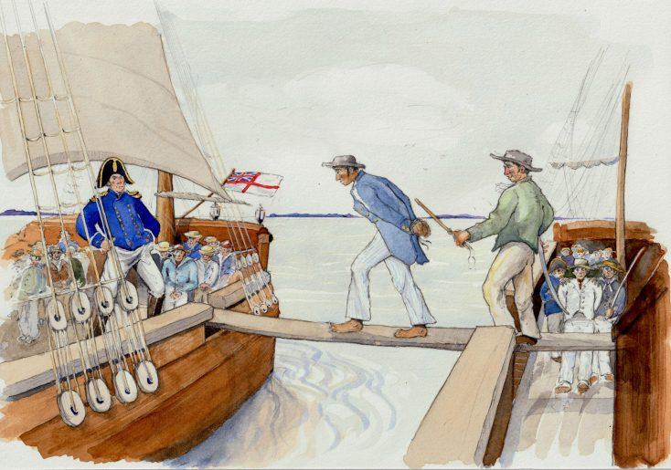 Scene 3: Press Ganged William Davidson was press ganged at sea twice   Kate Morton