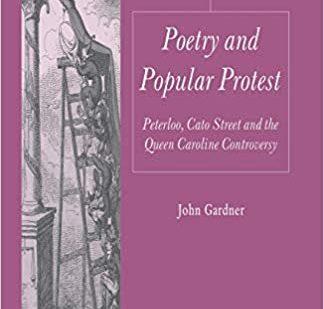 Poetry and Popular Protest: Dr John Gardner