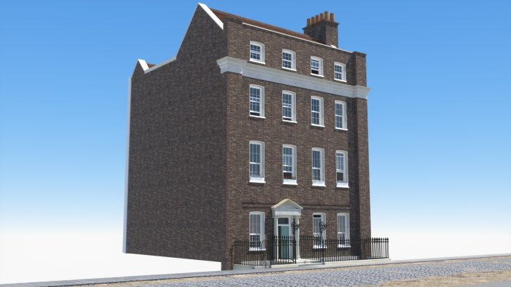 RH Viz Developed 3D VR sequences on Lord Harrowby's house at 39 Grosvenor Square from archive images   Rob Nutter RH Viz
