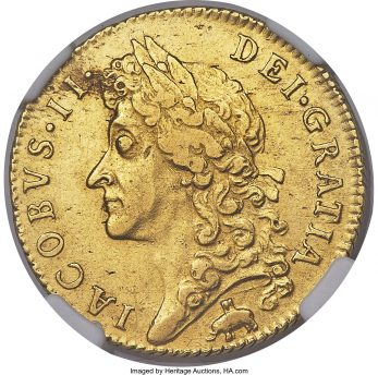 The Royal African Company traded on the Gold Coast (Guinea) of Africa. Their profits came from trading slaves and gold.  this gold guinea coin of James Ii has thier Elephant and Castle crest   WCRAG