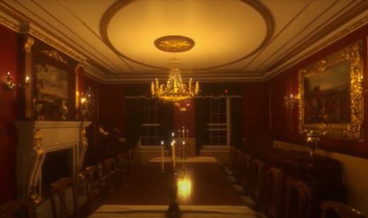 Lord Harrowby's House, 39, Grosvenor Square (Night time) VR