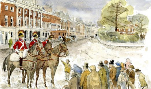 The Cato Street Conspiracy: A Real Life Drama set like Bridgerton in Grosvenor Square Part One