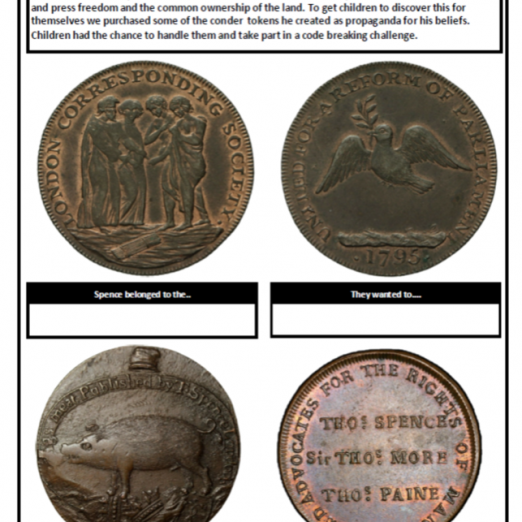 Conder tokens were used to tell the story of radical protest in Regency London | Peter Daniel