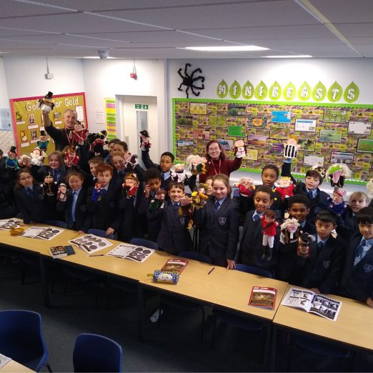 Y5 at Servite school used hand puppets to learn the story of the Cato Street Conspiracy | Peter Daniel