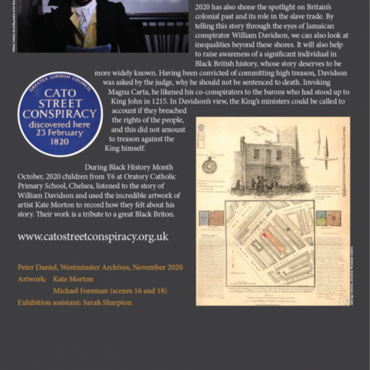 WCRAG are grateful to our partners and the support of players of the National Lottery for providing us with the funding to create this exhibiton. | Westminster Archives